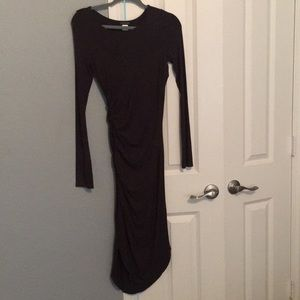 NWOT Black Long Sleeved Dress - Size Small